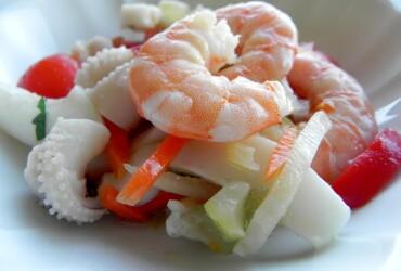 «Закуски из рыбы и морепродуктов»
